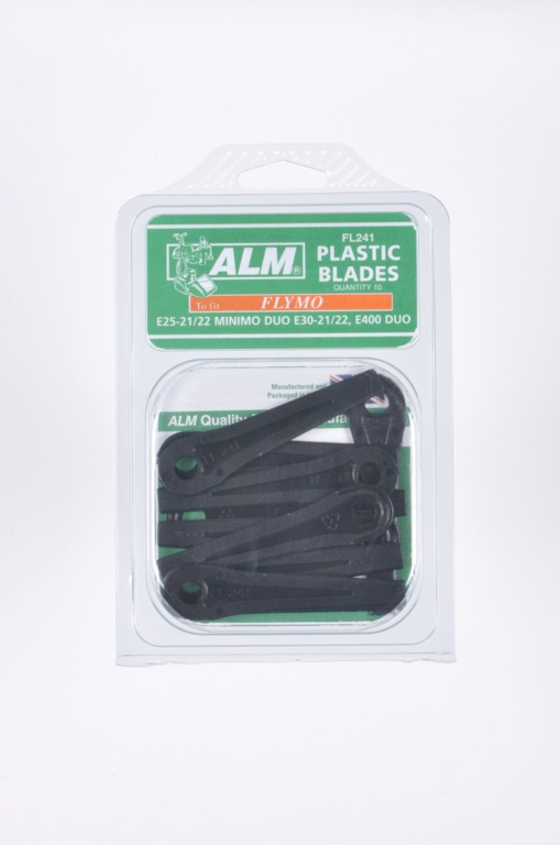 ALM Plastic Blades -  with Small Hole Pack of 10