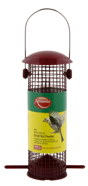 Ambassador Wild Birds Nut Feeder Small