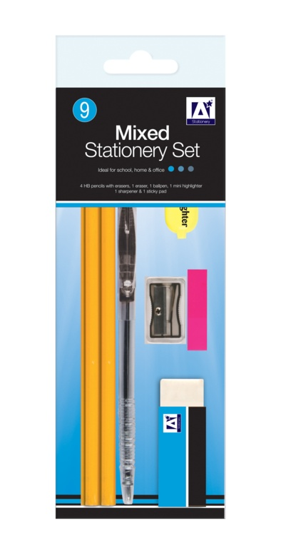 A Star Mixed Stationery Set
