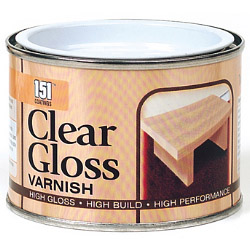 151 Coatings Varnish 180ml Clear Gloss